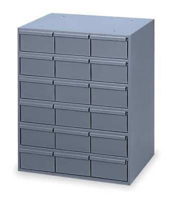 DURHAM 006-95 Drawer Bin Cabinet, 11-5/8 In. D, Gray