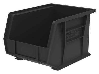 "Black Hang and Stack Bin, 10-3/4""L x 8-1/4""W x 7""H AKRO-MILS 30239BLACK"