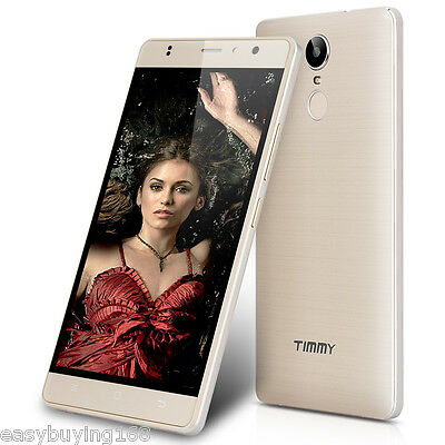 5.5'' IPS 4G LTE Smartphone Android 6.0 MTK6737 TIMMY 16GB Touch ID Móvil Oro ES