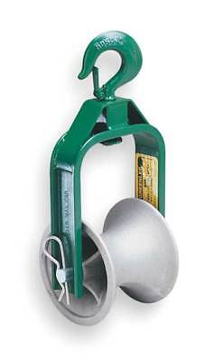 Cable Puller Sheave,Hook Type,12 In GREENLEE 651