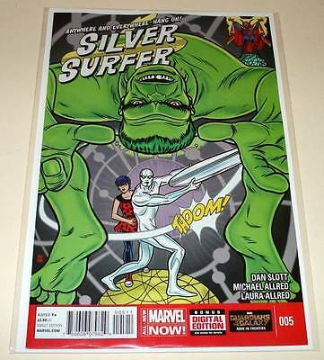 SILVER SURFER # 5  Marvel Comic  Oct 2014   NM