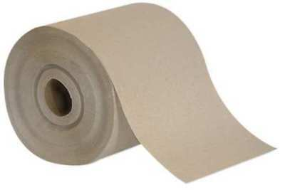 "Georgia-Pacific Brown Paper Towels Roll 7-3/8""W x 450'L, 12 Rolls, 22025"