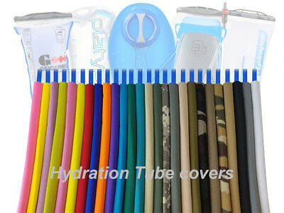 Hydration pack drink tube insulated hose cover sleeves.. for Camelbak, Platypus