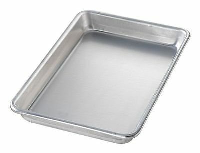 CHICAGO METALLIC 41800 Sheet Pan, Aluminum, 6-1/2x9-1/2