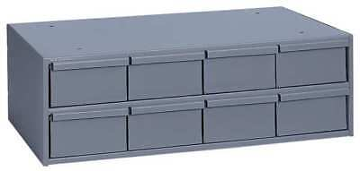 DURHAM 003-95 Drawer Bin Cabinet, 11-5/8 In. D, Gray