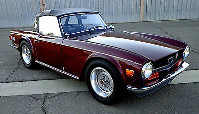 Triumph : TR-6 BASE SUPERCHARGED 1973 TRIUMPH TR-6, RUST FREE, 1969 1970 1971 1972 1974 1975 1976
