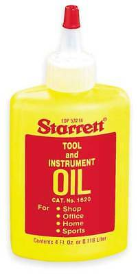 Tool and Instrument Oil,4 Fl Oz STARRETT 1620
