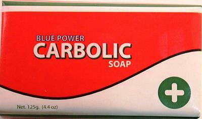 Blue Power Carbolic Soap 125g (Pack of 3)