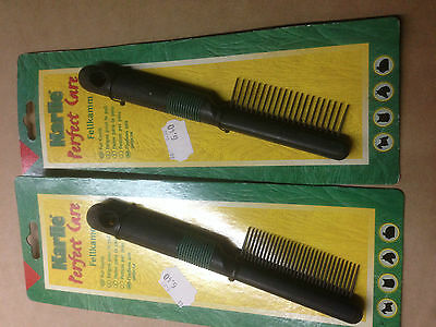 Peigne 31 dents Karlie made in germany chromage  haut de gamme menage le poil !