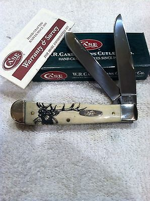 CASE XX, ELK LAXERED, NATURAL TRAPPER