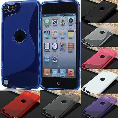 For iPod Touch 5 5th 6 6th Gen TPU Anti-Scratches Silicone Rubber Cover Case