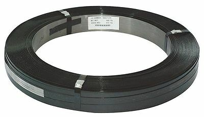 4WXT2 Steel Strapping, 5/8 In, L 2794 Ft
