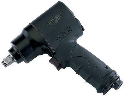 """DRAPER Expert 1/2"""" Sq. Dr. Compact Composite Body Air Impact Wrench 43327"""