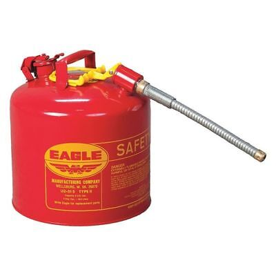 EAGLE U2-51S Type II Safety Can, Red, 5 gal