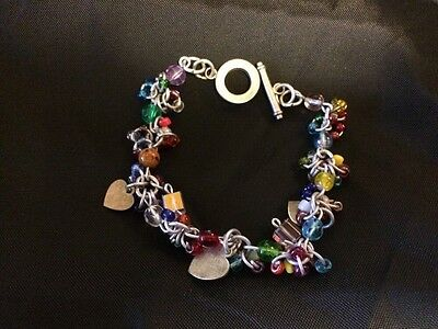 Haunted bracelet charged with positive Good energy Spirit attachment grounding