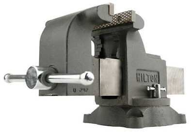 WILTON WS5 Workshop Vise,Swivel,5 In Jaw,DI