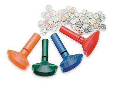 Coin Counting Tubes,Plastic,PK4 MMF INDUSTRIES 224000400