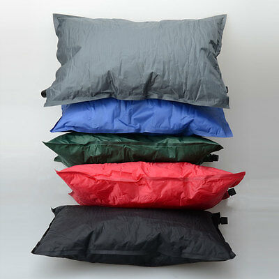 Brand New Air Pillow Polyester Self-Inflating for Outdoor Camping