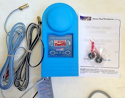 Swimming Pool / Spa Solar Heating Pump Controller Up/down Ms3D New Aust Made