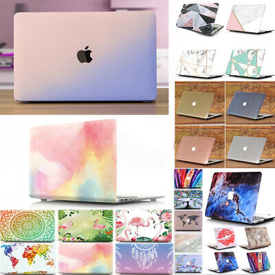 """Frosted Rubberized Hard Case Cover For MacBook Air Pro 11 13 15""""inch & Retina"""