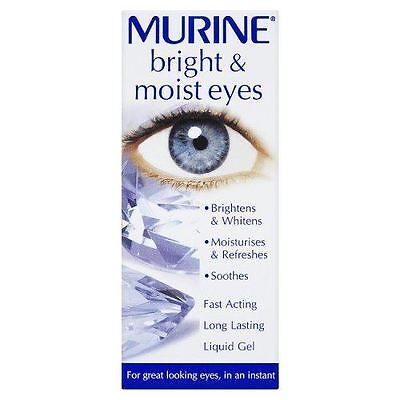 Murine Bright & Moist Eyes Brightens Whitnes Soothes Ligid Gel 15ml