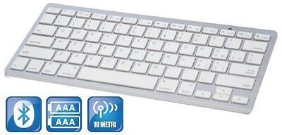 Tastiera Qwerty Bluetooth 3.0 Keyboard Compatibile Con Smartphone Android Tablet
