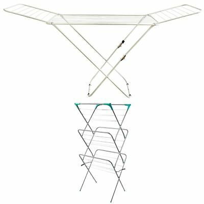 Clothes Airer Winged 3 4 Tier Tower Indoor Outdoor Laundry Rack By Home Discount