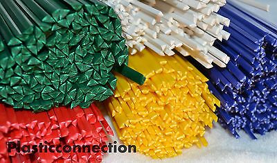 Plastic welding rods STARTER MIX 50pcs ABS, HDPE, PP, LDPE, PA