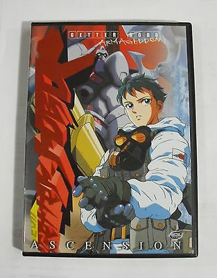 """GUETTER ROBO """"Armagedon"""" vol.3 DVD [ASCENSION] {{SLIGHTLY USED}}"""