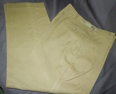 Vintage Wool M-1951 Us Army Military Surplus Trousers Korean War Cold Weather