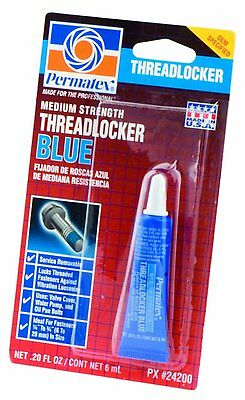 Permatex Blue 24200 threadlocker 6 ml nut & bolt locker removable