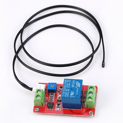 1CH 1 channel DC12V Thermal Relay Control Sensor Temperature Switch relay module