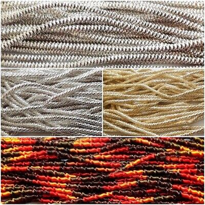 THICK Check Rough French Metal Purl Wire Gimp Coil Bullion Cord Embroidery Jewel