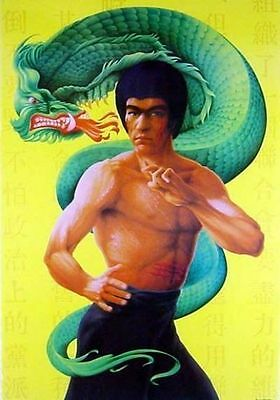 Bruce Lee, The Dragon, Poster 68 x 98 cm