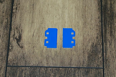 wiper blade (2pcs) for Dx5 print head (blue) for Roland Mimaki Mutoh printers