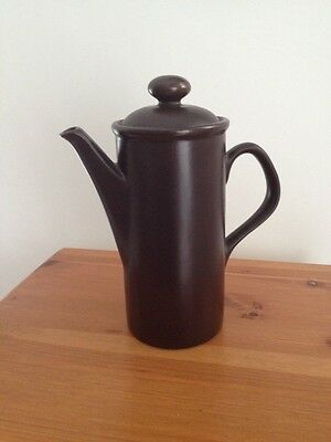 Brown Coffee Pot- Simple Lines For The Minimalist Decor
