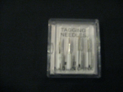 1 pk 4 needles National Fine Replacement tagging Needle 400F Fits J11F
