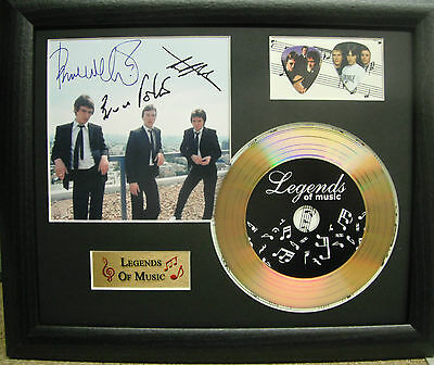 The Jam Preprinted Autograph, Gold Disc & Plectrum Presentation