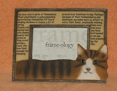 Cute Cat Picture Frame-Ology United Design Corp