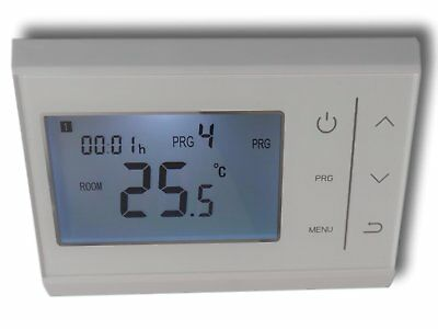 digital funk raumthermostat thermostat programmierbar touchkey serie top z1046 eur 33 99. Black Bedroom Furniture Sets. Home Design Ideas