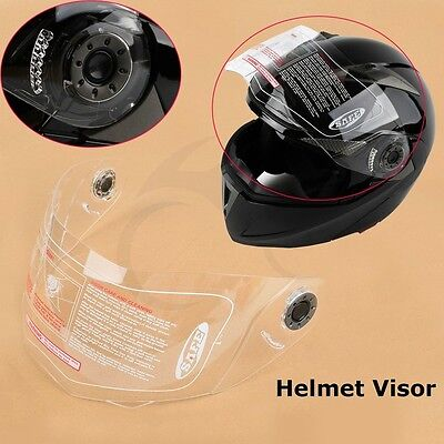 Replacement Motorcycle Clear Flip Up Helmet Dual Visor Full Face Shield ST-818