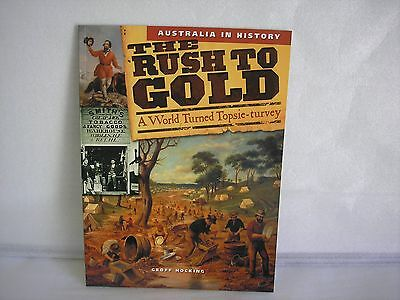 "Kids Educational Books ""The Rush To Gold""  Free Postage Superfast Delivery!"