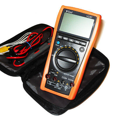 High Quality Full Function Auto Range Multimeter Digital LCD AC DC Tester VC 97