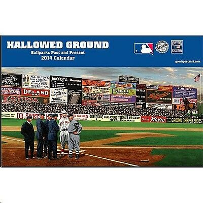 Hallowed Ground Baseball Parks Ballfields 2014 Baseball Calendar Yankee Stadium