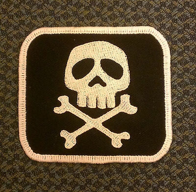 Captain Harlock embroidered skull patch Galaxy Express 999 Arcadia Misfits