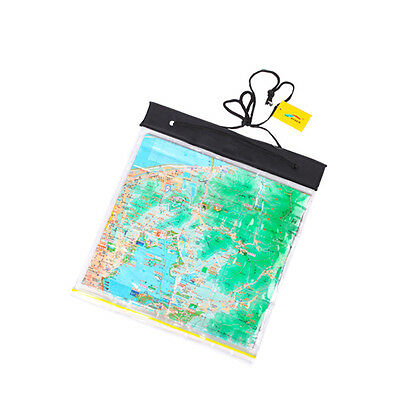 100% WATERPROOF Map Holder - Dry Bag Travel Case