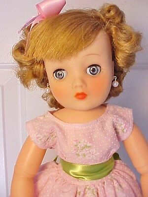 """Beautiful Vintage  1957 19"""" HORSMAN CINDY FASHION DOLL in Pink Outfit-Complete"""