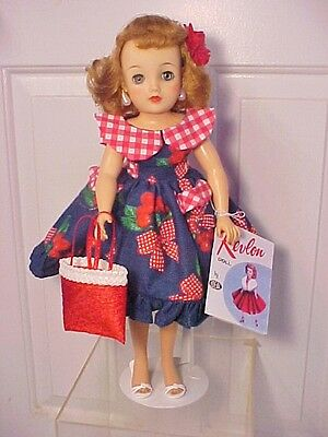 """Vintage 1950s 18"""" MISS REVLON DOLL - Beautiful Outfit with All Accessories"""