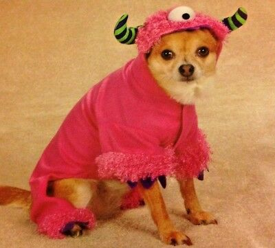 Adorable Monster Paws Dog Costume - Halloween - Casual Canine - XS - Pink - NWT