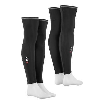 Louis Garneau Cycling Leg Warmers 2 - Small Black LG Bike Riding Leg Warmers